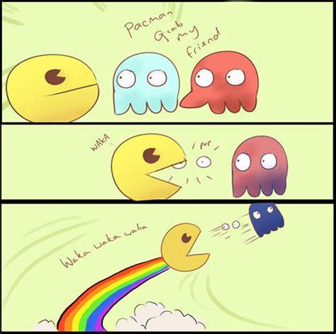 Pac Man Meme - site unavailable