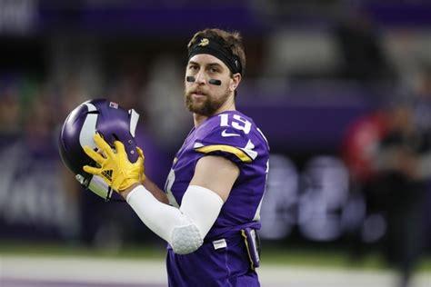 eagles  vikings minnesotas adam thielen     play  injuries report