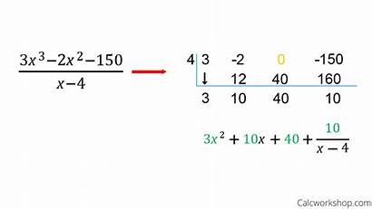 Synthetic Division Polynomial Polynomials Divide Examples Example