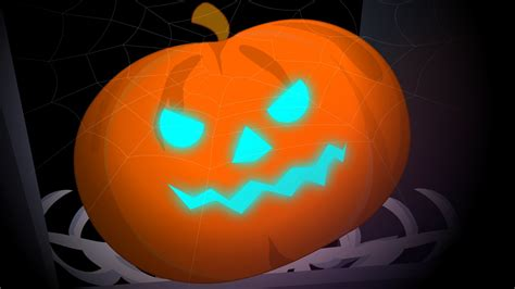 really scary pumpkins scary pumpkin happy halloween kids nursery rhyme baby song video for preschoolers youtube