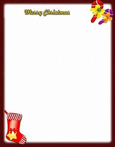 free printable christmas stationery templates new With christmas letter stationery printable