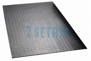 tapis pastille caoutchouc tapis antiderapant au metre With tapis caoutchouc pastillé