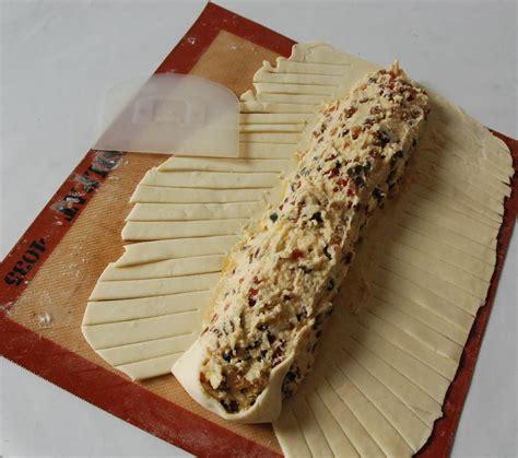 cuisine de sabrina feuilleté tressé à la crème d 39 amande fruits confits