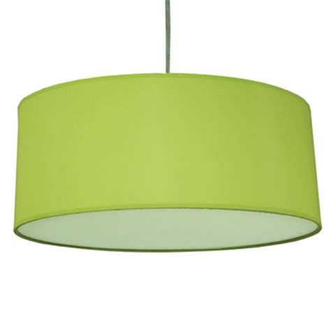 drum pendant shade lime green imperial lighting