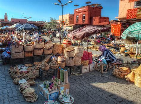 Plaza De Las Especias, Marrakech, Hdr