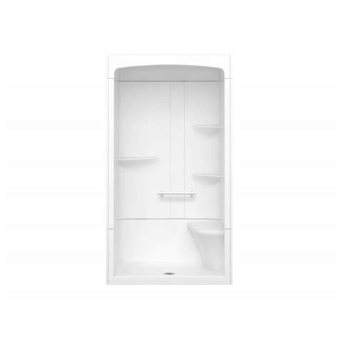 Maax Shower Stalls Installation - maax camelia 48 in x 34 in x 88 in alcove shower stall