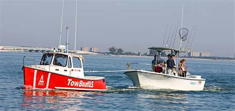Towing A Boat Into The Us boat towing membership boatus