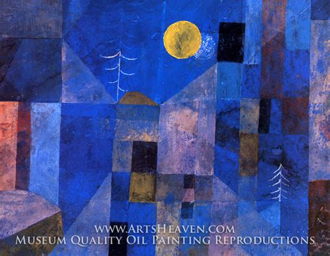 Paul Klee Artworks by Paul Klee Moonshine Painting Reproduction Art On Canvas