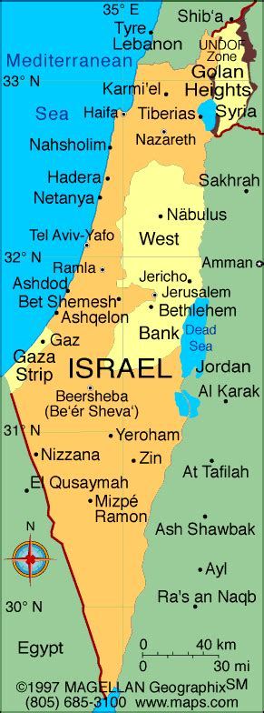 Jerusalem Israel Karte / Karten - The holy land / See the ...