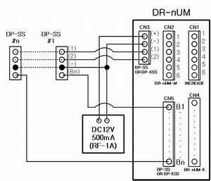 Commax 6 Buttons Audio Intercom Door Panel Dr
