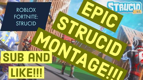 roblox strucid fortnite montage awesome youtube