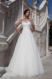 Crystal design 2015 wedding dresses part 1 world of bridal for Crystal design wedding dresses