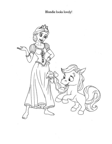 palace pets coloring pages getcoloringpagescom