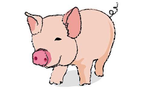 cartoon pigs clipart