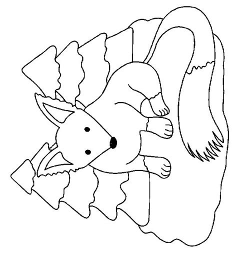 Baby Vos Kleurplaat by Woodland Baby Animals Coloring Pages Coloring Pages