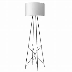 Buy flos ray f floor lamp grey amara for Flos ray f floor lamp