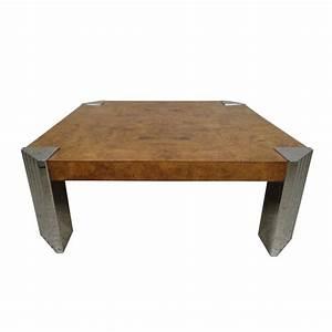 milo baughman burl wood coffee table for sale at 1stdibs With burl wood coffee table for sale