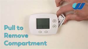 How To Change The Battery In A Honeywell Thermostat