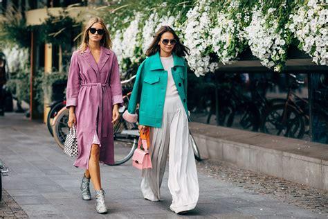street style  stockholm fashion week spring