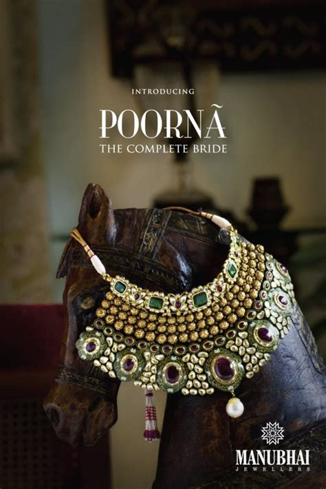 manubhai jewellers  poorna collection