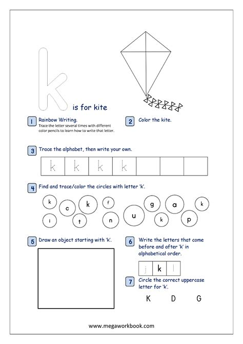 alphabet recognition activity worksheets  lowercase