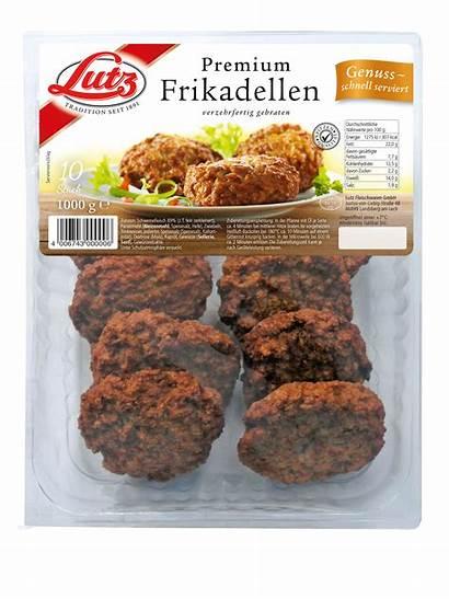 Frikadelle Convenience Premium Lutz Fleischwaren Sortiment August