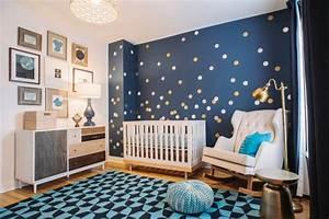 Deco Chambre Bebe Bleu : deco chambre bebe bleu petrole visuel 2 ~ Teatrodelosmanantiales.com Idées de Décoration