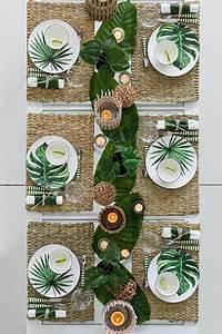 Tisch Und Teller : tropische hochzeitsfeier tischdekoration gedeck tisch bilder und teller ho trend nb ~ Watch28wear.com Haus und Dekorationen