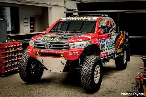 rally truck racing carnichiwa toyota hilux evo mid engine v8 truck