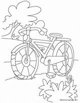 Coloring Bike Bicycle Pages Mountain Safety Length Cycling Craft Printable Sheet Bestcoloringpages Duck Template Colouring Crafts Sheets Outdoor Preschool Kid sketch template
