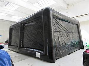 airquee inflatables golf simulator building