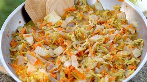 cuisiner du choux chinois embeurré de chou