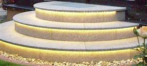 Außen Treppenstufen Beton : led beleuchtung aussentreppe das beste aus wohndesign ~ Michelbontemps.com Haus und Dekorationen