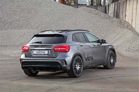 45 amg tuning vath infuses the gla 45 amg with 439 hp carscoops
