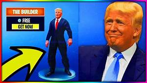 How To Get DONALD TRUMP SKIN FOR FREE in Fortnite Battle ...