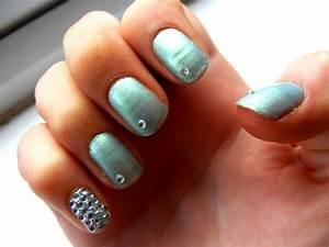 14 Diamonds Nail Art Design Ideas Images - Purple Nail ...