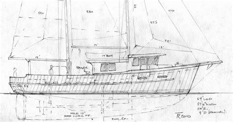 boat fishing sail plans schooner designs troller boats yacht guide wheelhouse tad roberts lobster