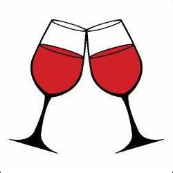 Wine Glass Toast Clipart