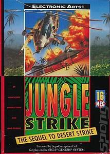 Register Computer Covers Box Art Jungle Strike Sega Megadrive 1 Of 2