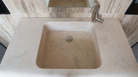 Lavabi Bagno Travertino Pietre Di Rapolano Lavabo Di Design In Travertino Quot Cave Quot Pietre Di Rapolano