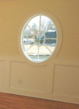 custom   oval window trim    davis company