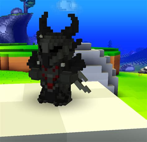 updated daedric armor  weapons player models cube