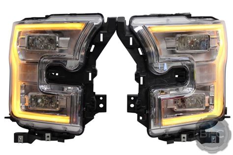 2015 ford f150 oem led headlight upgrade packages