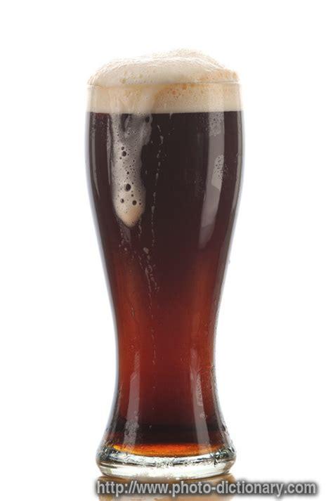 dark ale photopicture definition  photo dictionary dark ale word  phrase defined