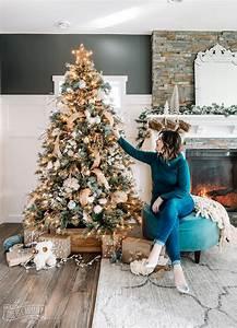 Rustic, Boho, Glam, Christmas, Tree, Decorating, Ideas