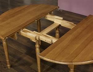 Table Ronde Bois Massif : table ronde chene massif ~ Teatrodelosmanantiales.com Idées de Décoration