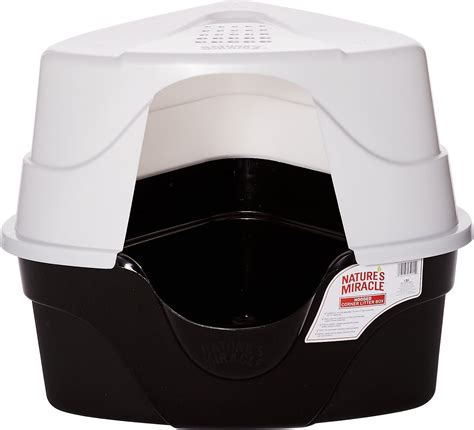 Natures Miracle Just For Cats Advanced Hooded Corner Cat