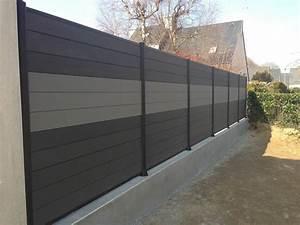 Cloture Composite Prix Usine : cloture composite panneau grillage rigide gris chromeleon ~ Dailycaller-alerts.com Idées de Décoration