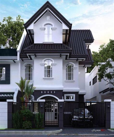 black house exterior design  pure darkness