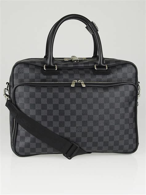 louis vuitton damier graphite canvas icare computer bag